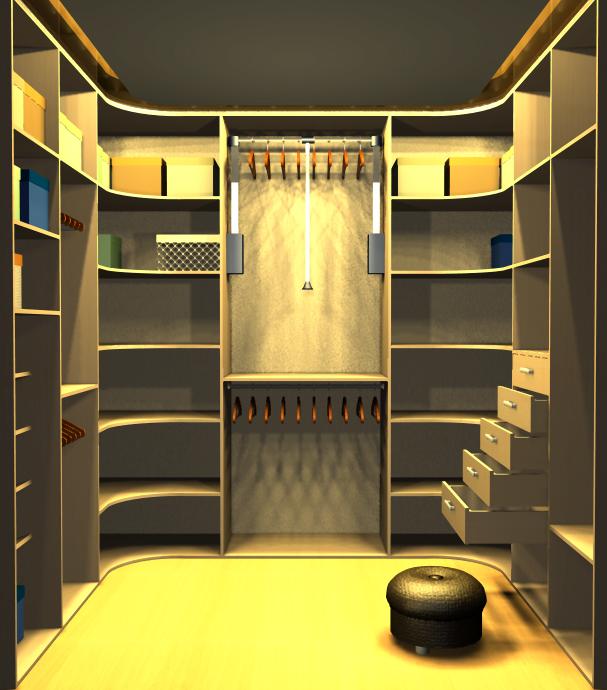 Гардеробные - шкафэ.